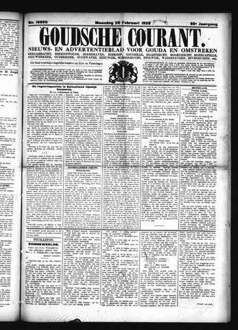 Goudsche Courant 1928-02-20