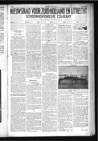 Schoonhovensche Courant 1932-01-13
