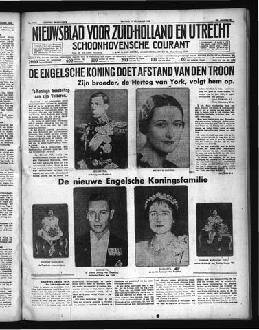 Schoonhovensche Courant 1936-12-11