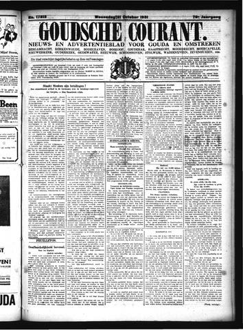 Goudsche Courant 1931-10-21