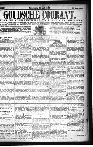 Goudsche Courant 1922-07-27