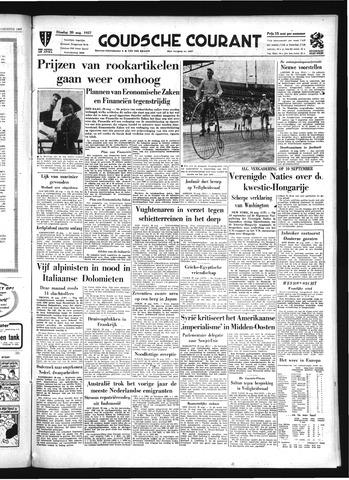 Goudsche Courant 1957-08-20