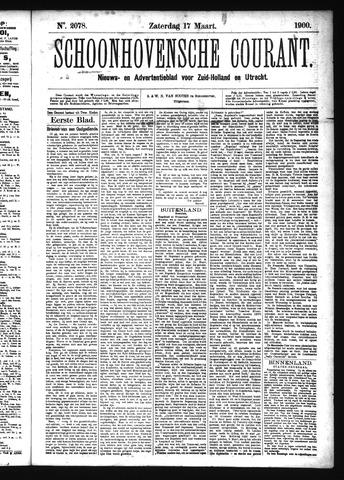 Schoonhovensche Courant 1900-03-17