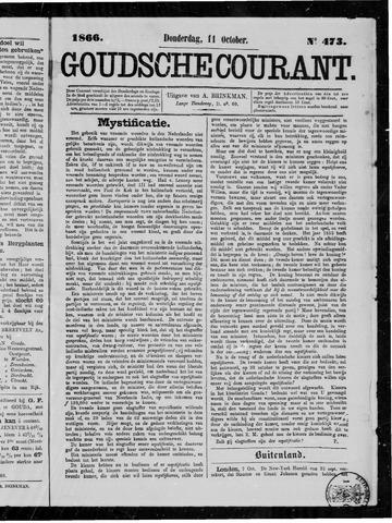 Goudsche Courant 1866-10-11