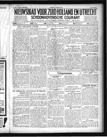 Schoonhovensche Courant 1936-02-17