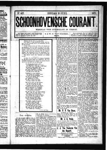Schoonhovensche Courant 1877-06-10