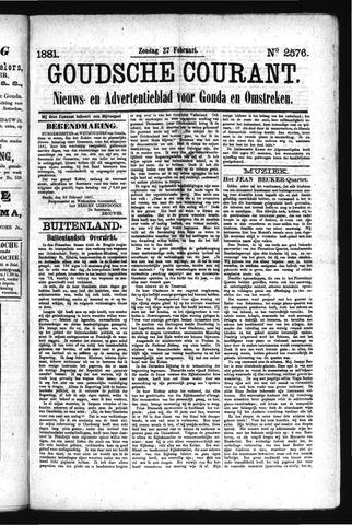 Goudsche Courant 1881-02-27