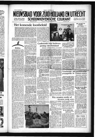 Schoonhovensche Courant 1954-09-03