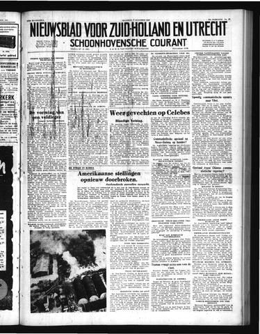Schoonhovensche Courant 1950-08-07
