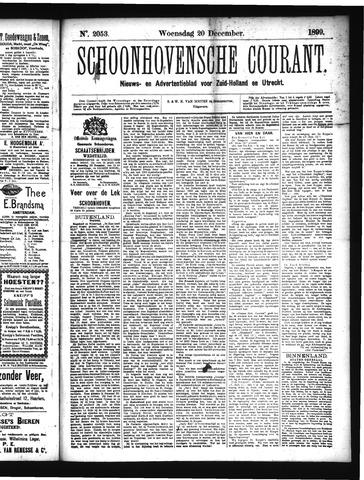 Schoonhovensche Courant 1899-12-20