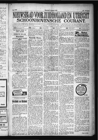 Schoonhovensche Courant 1929-01-14