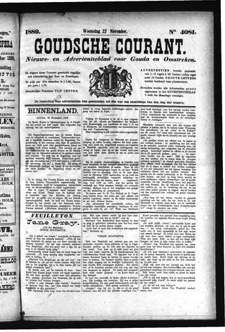 Goudsche Courant 1889-11-27