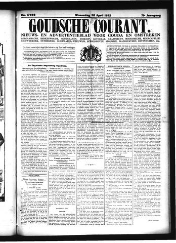 Goudsche Courant 1932-04-20