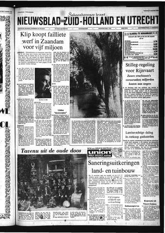 Schoonhovensche Courant 1972-11-08