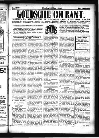 Goudsche Courant 1927-03-22