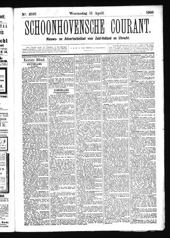 Schoonhovensche Courant 1906-04-11