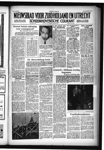 Schoonhovensche Courant 1955-04-18