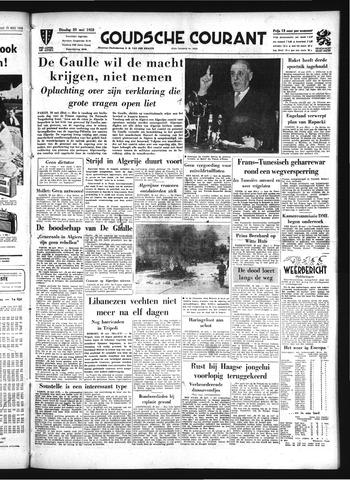 Goudsche Courant 1958-05-20