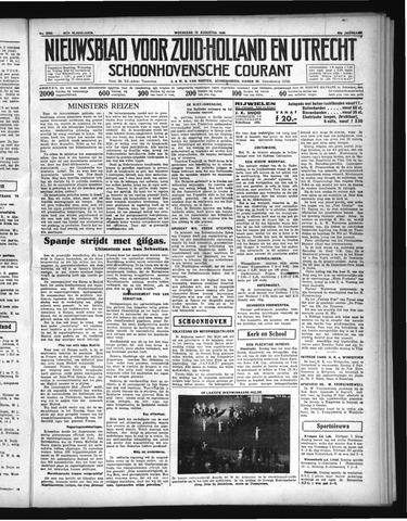 Schoonhovensche Courant 1936-08-19
