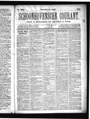 Schoonhovensche Courant 1912-04-20