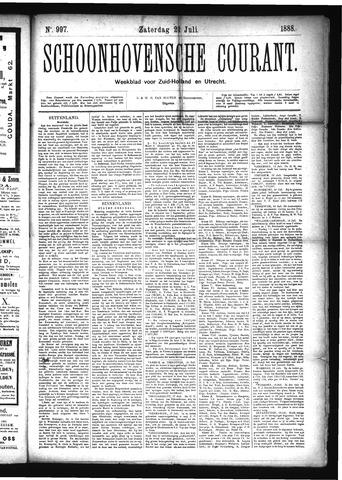 Schoonhovensche Courant 1888-07-21