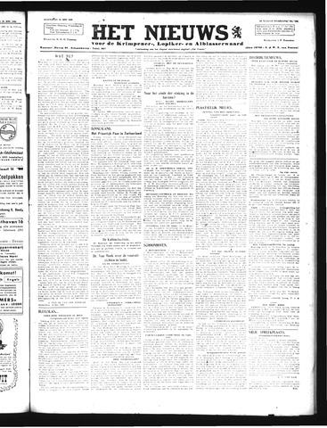 Schoonhovensche Courant 1946-05-22