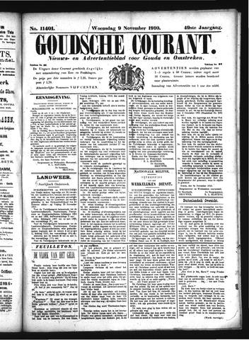 Goudsche Courant 1910-11-09