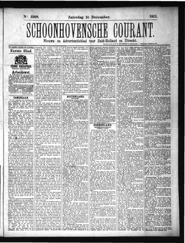 Schoonhovensche Courant 1911-12-16