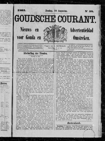 Goudsche Courant 1862-08-10