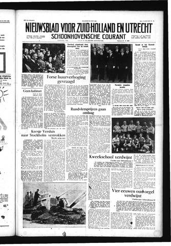 Schoonhovensche Courant 1956-06-25