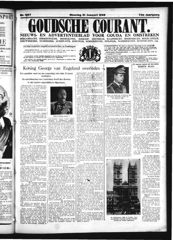 Goudsche Courant 1936-01-21