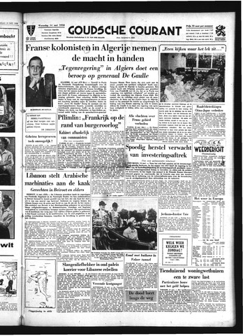 Goudsche Courant 1958-05-14