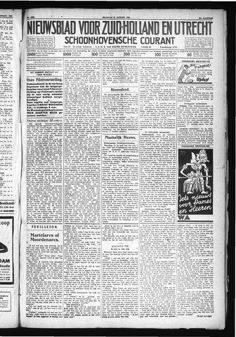 Schoonhovensche Courant 1930-01-27