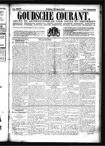 Goudsche Courant 1927-04-29