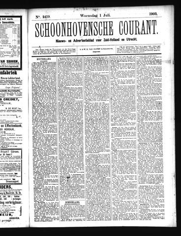 Schoonhovensche Courant 1903-07-01