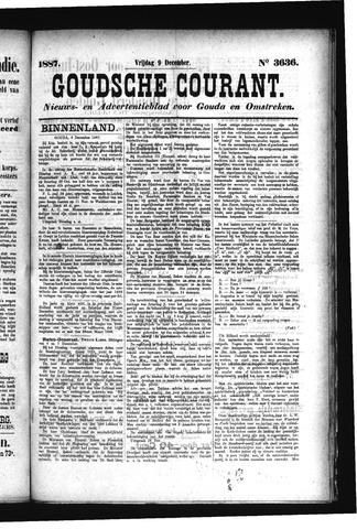 Goudsche Courant 1887-12-09