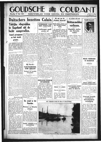 Goudsche Courant 1940-05-27