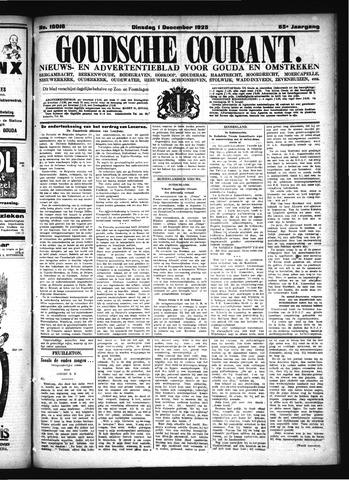 Goudsche Courant 1925-12-01