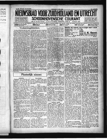 Schoonhovensche Courant 1935-04-17