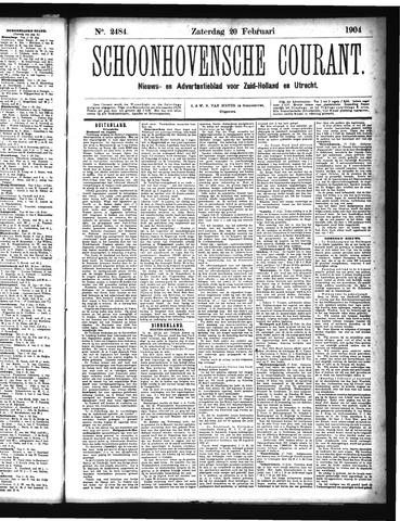 Schoonhovensche Courant 1904-02-20