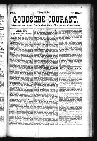 Goudsche Courant 1885-07-10