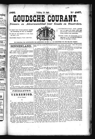 Goudsche Courant 1892-06-24