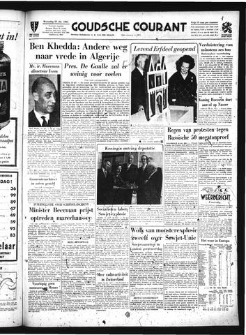 Goudsche Courant 1961-10-25