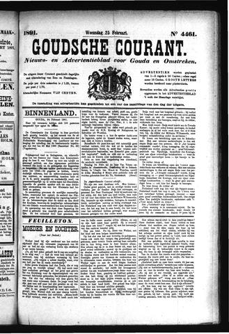 Goudsche Courant 1891-02-25