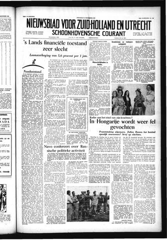 Schoonhovensche Courant 1956-12-12
