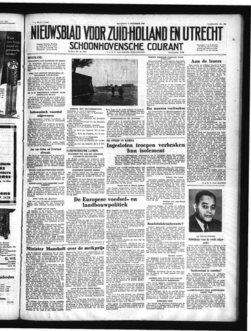 Schoonhovensche Courant 1950-12-11