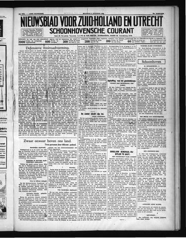 Schoonhovensche Courant 1938-08-08