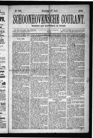 Schoonhovensche Courant 1879-07-27
