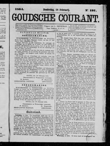 Goudsche Courant 1864-02-18