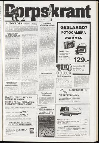 Dorpskrant 1987-05-27